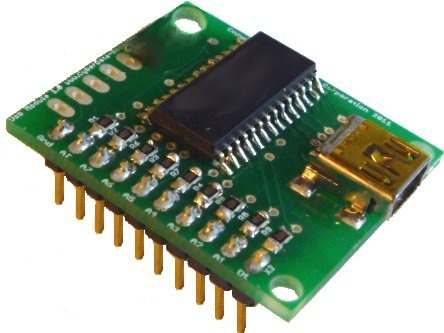 Photo of the USB-PID-03 USB module